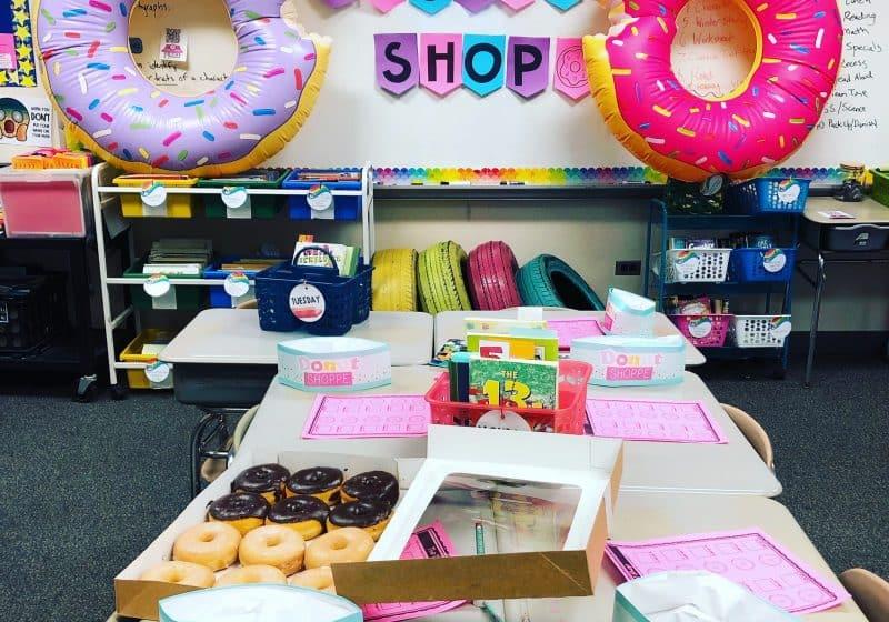 donut classroom transformation